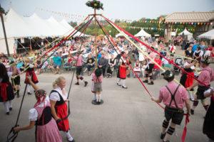 German, pavilion, saskatoon, folkfest