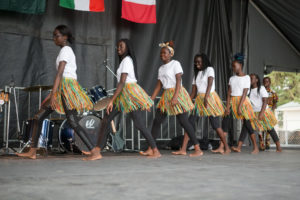 South Sudan, saskatoon, pavilion, folkfest, dancers
